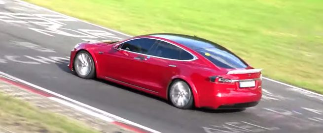 Tesla Model S prototype 1