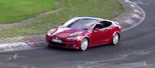 Tesla Model S prototype 3