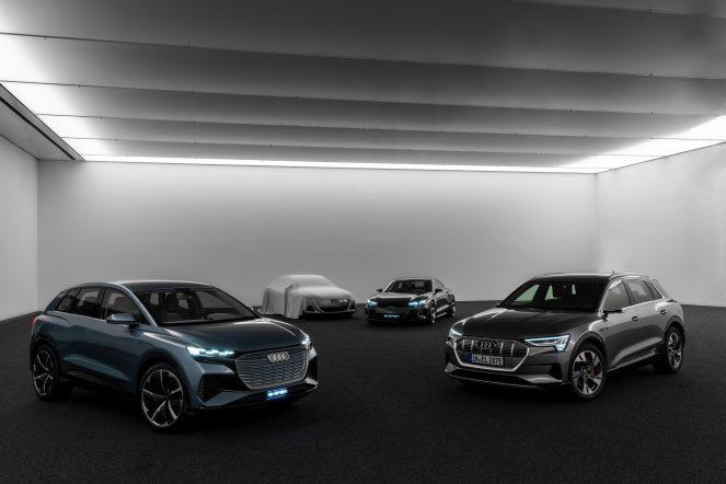 Audi electric sedan teaser 4