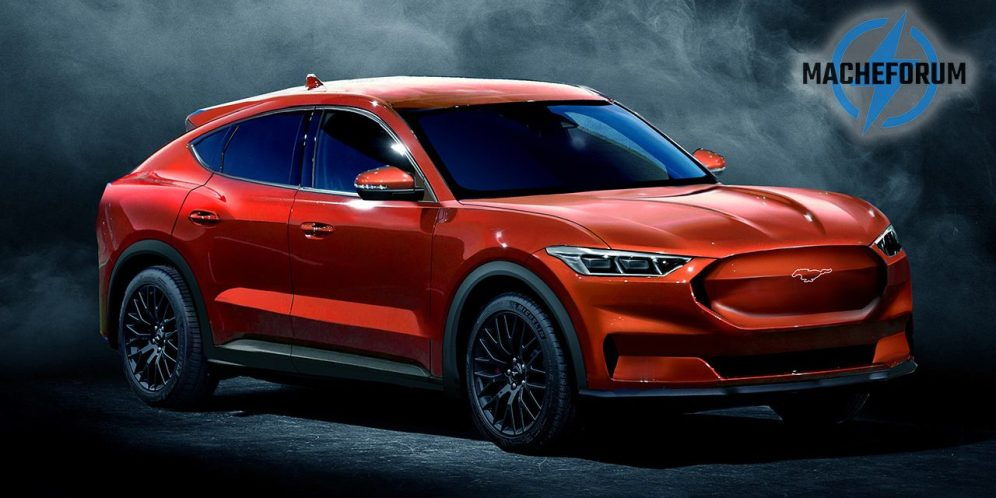 ford mustang inspired suv mach e model y competitor