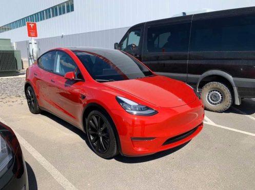 Tesla Model Y gigafactory 2