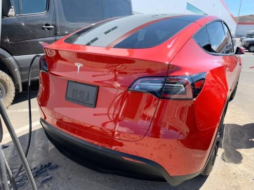 Tesla Model Y gigafactory 3