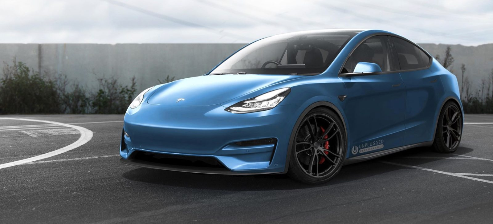 Tesla Model Y Gets New Look From Unplugged Performance