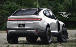 rivian R1X-white-rear