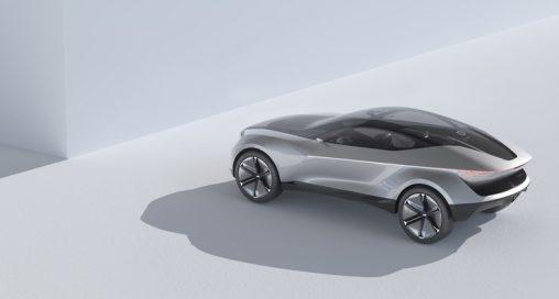 Kia's Futuron Concept proposes an illuminating new design for an electric SUV coupe