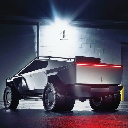 Rugged Tesla Cybertruck 2