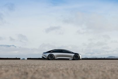 Mercedes-Benz, Vision EQS photo shoot Los Angeles January 2020