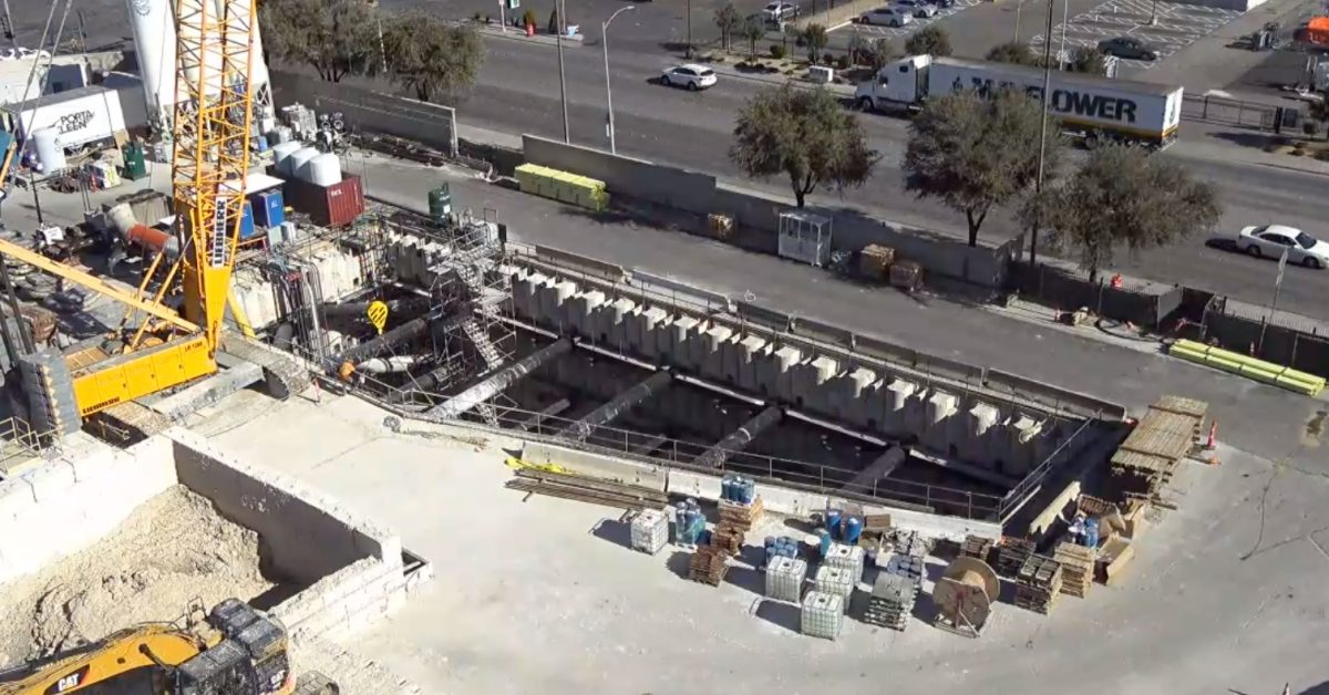 Elon Musk's Boring Company Las Vegas loop is under construction, going to be ready by year's end - Electrek