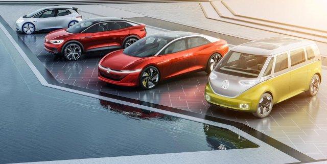 Volkswagen's EV lineup