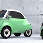 Which Is Cuter The Microlino Electric Bubble Car Or Its Electric Scooter Companion Electrek