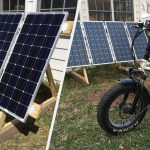 Diy Solar Charger For An Electric Bicycle Made Easy
