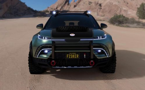 Fisker Ocean Force E off-road electric vehicle 3