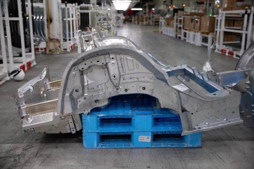 Tesla Model 3 underbody 2