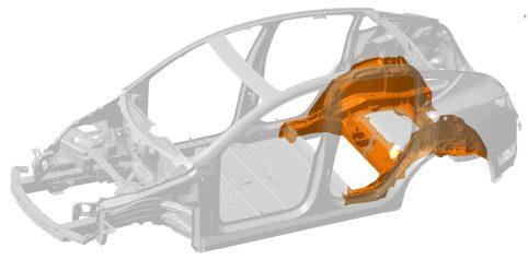 Tesla Model Y underbody
