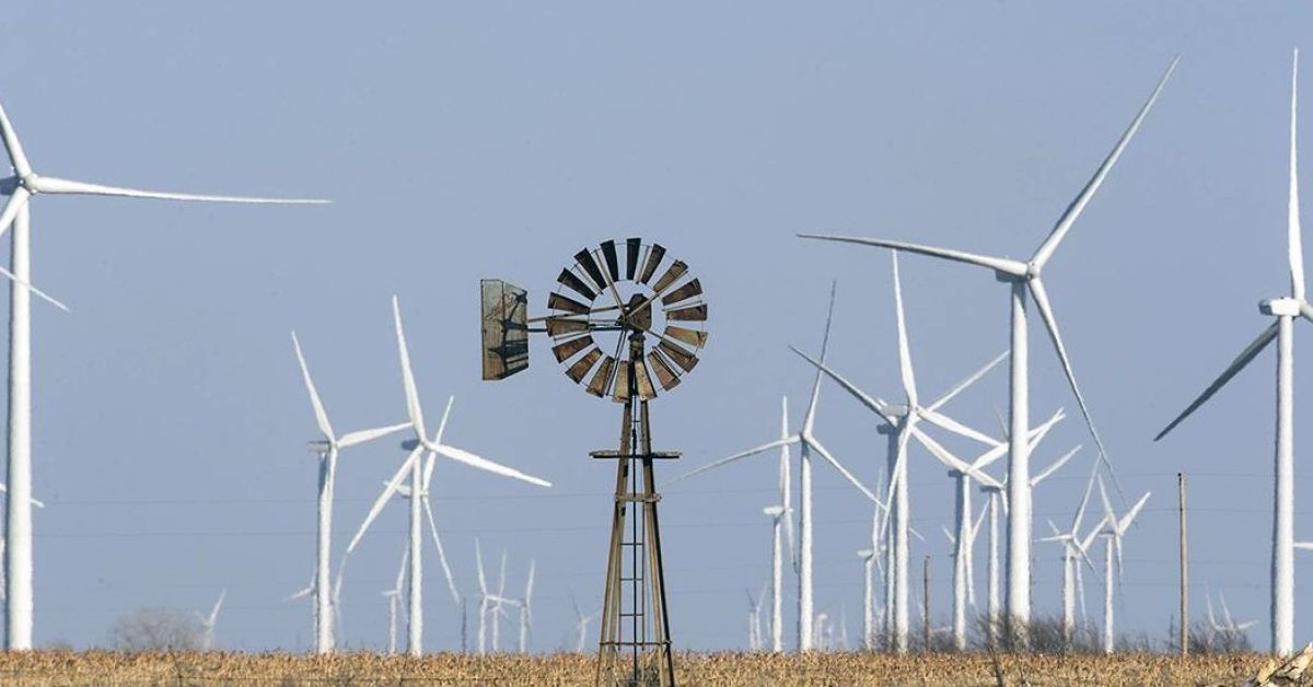 Kansas wind farm sold, Facebook will buy all the energy - Electrek