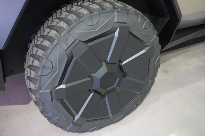 Tesla Cybertruck wheel