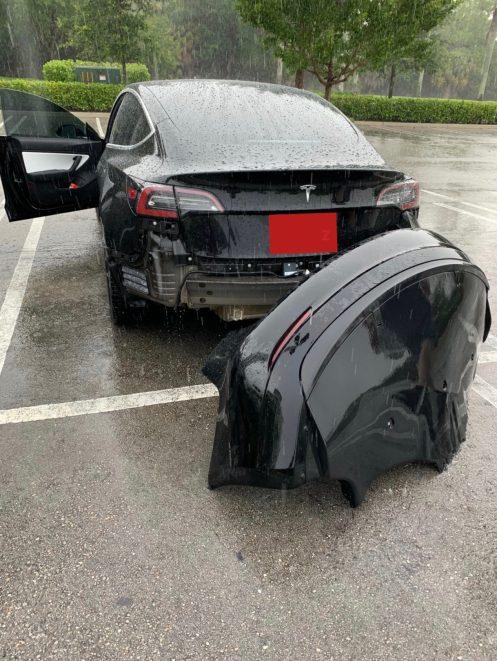 Tesla Model 3 bumper 2