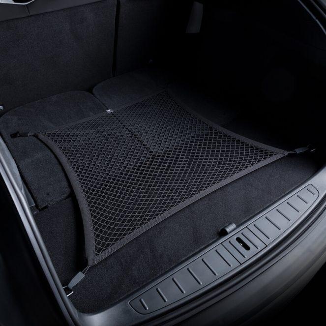 Tesla Model X cargo net