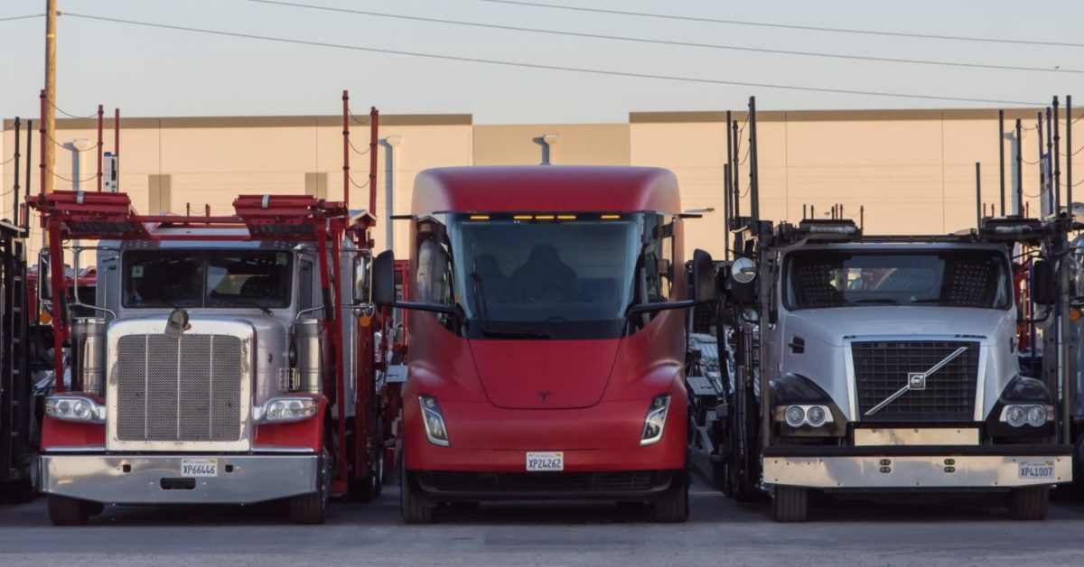 Tesla Semi: the electric semi truck is going to be built in Texas - Electrek