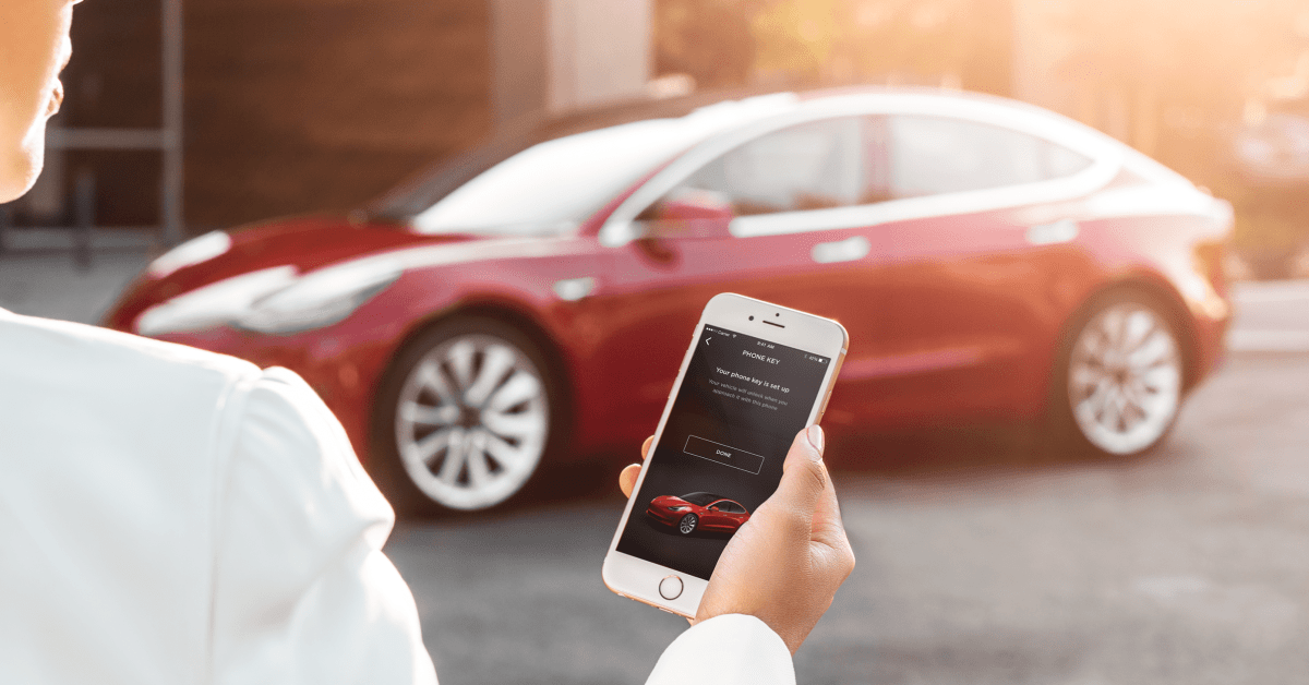 Tesla finally launches two-factor authentication to better protect customers - Electrek