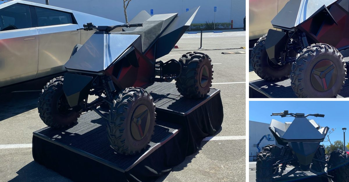 Tesla Cyberquad is alive, new trademark application for the electric ATV