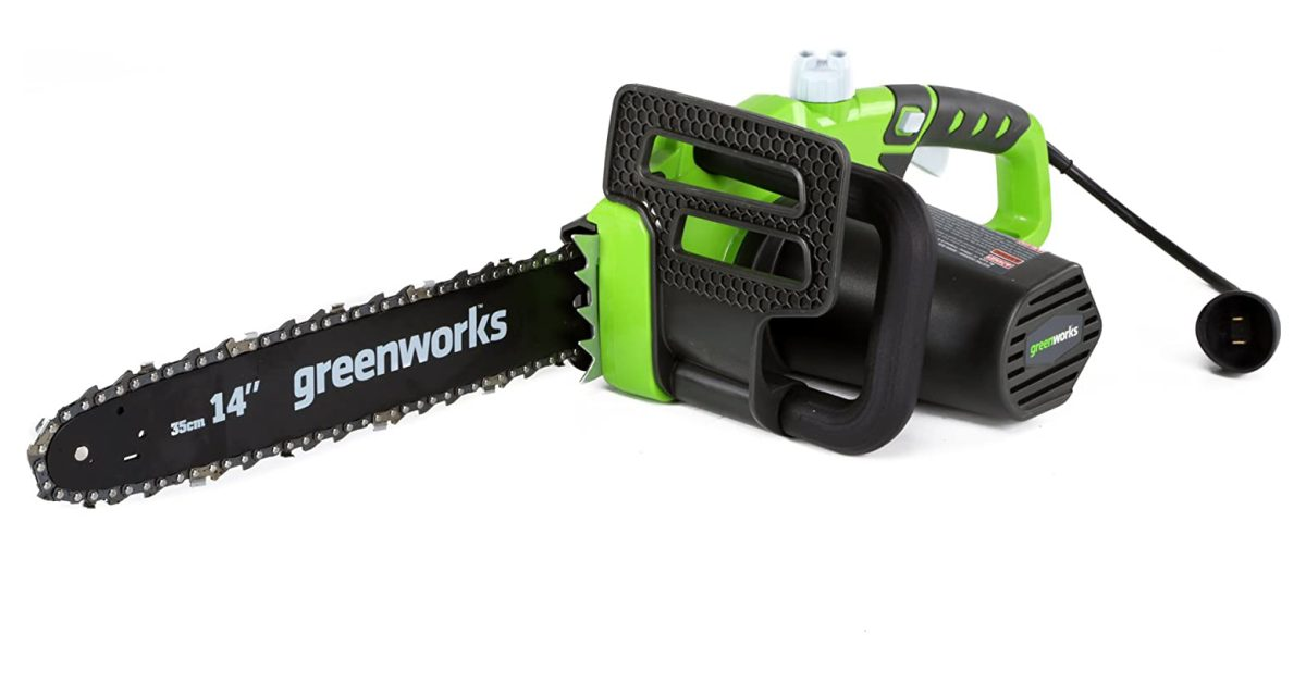 Green Deals: Greenworks 14-inch Electric Chainsaw $59, more - Electrek