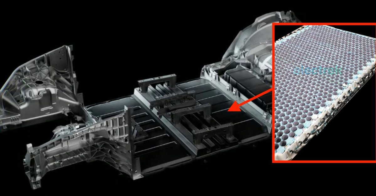 First look at Tesla's new structural battery pack - Electrek