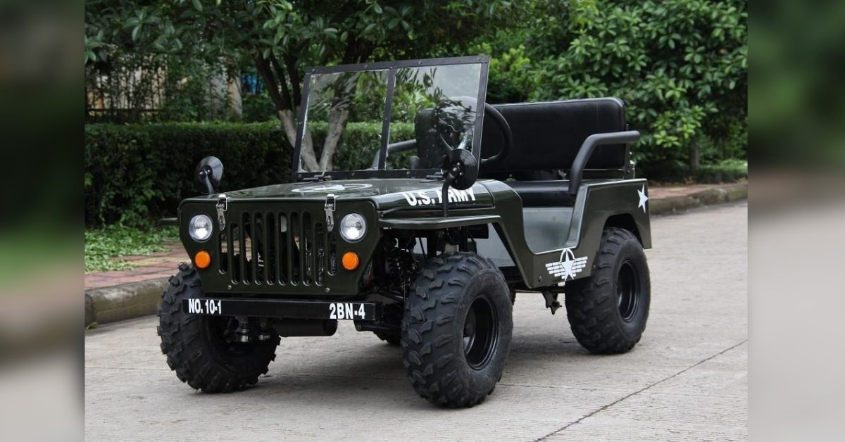 Awesomely weird Alibaba electric vehicle of the week: $1,700 electric Jeep - Electrek