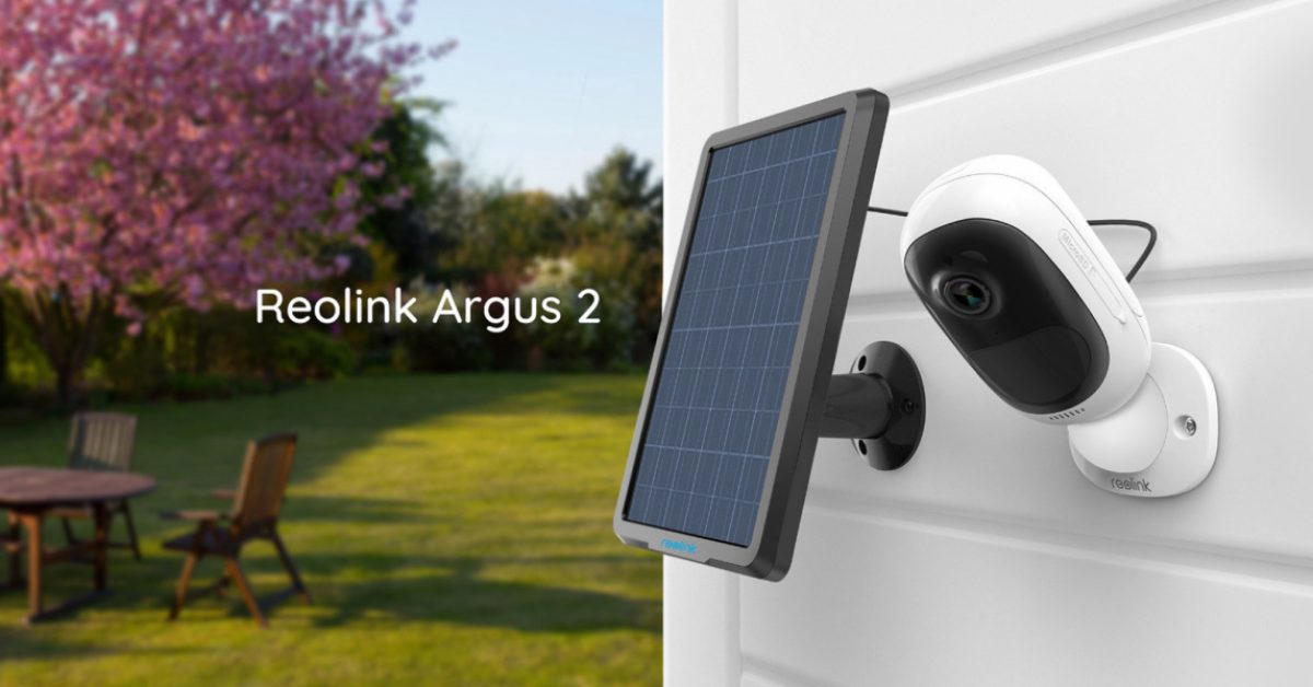 Green Deals: This 1080p home security camera is solar-powered at $92, more