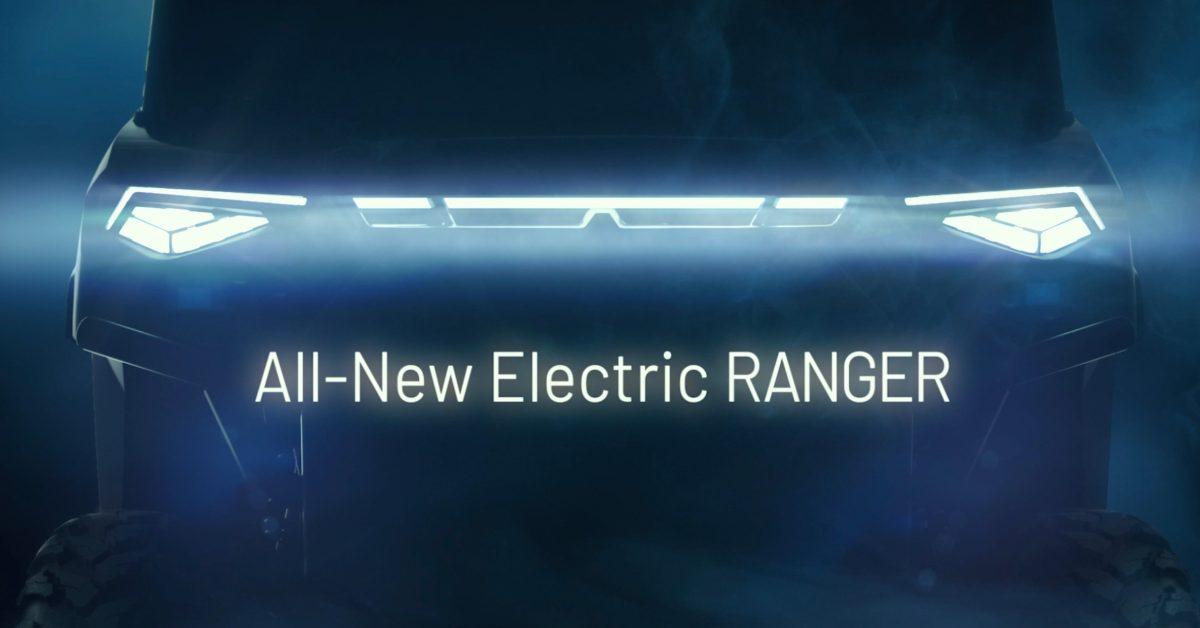 Polaris RANGER EV plans revealed as full-size electric side-by-side UTV