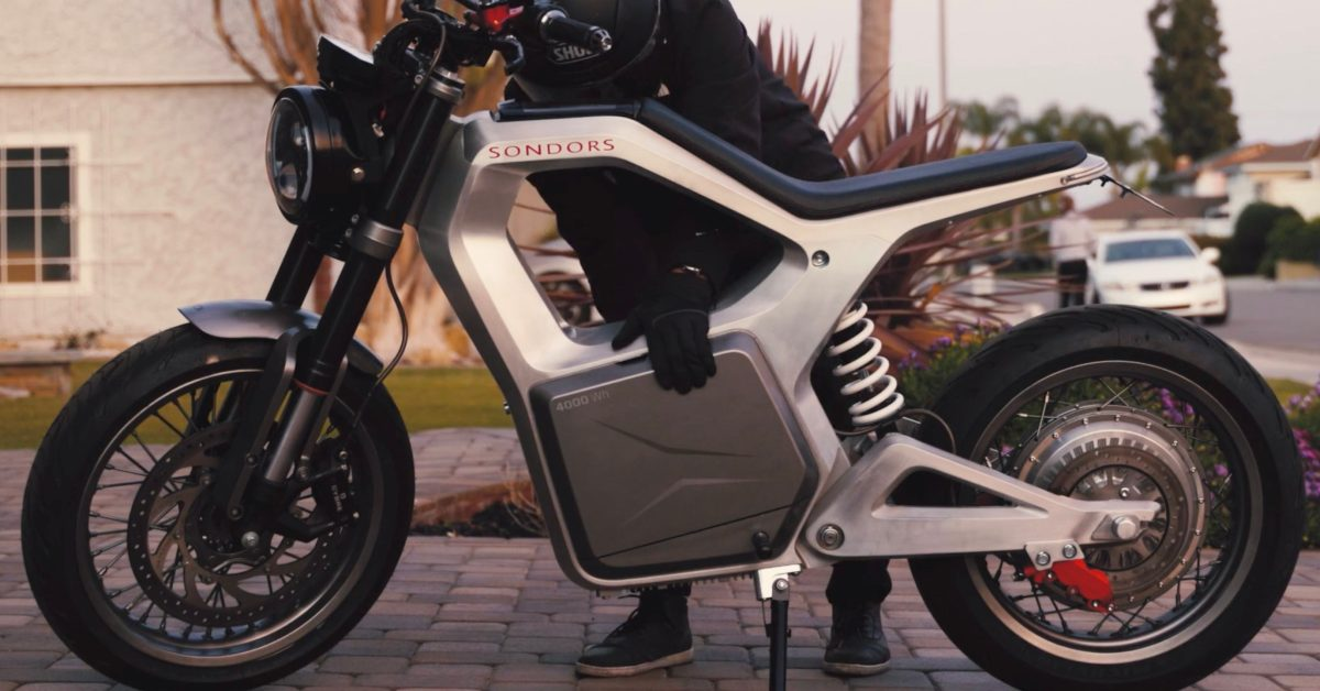 $5,000 SONDORS Metacycle electric motorcycle in durability testing ahead of deliveries