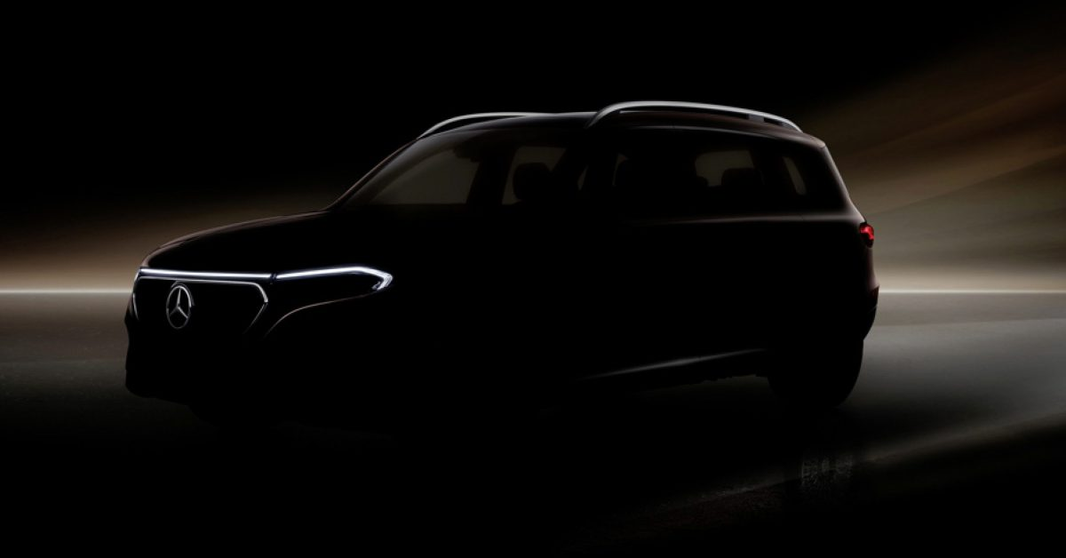 Mercedes-Benz announces EQB compact SUV with 7 seats coming next year - Electrek
