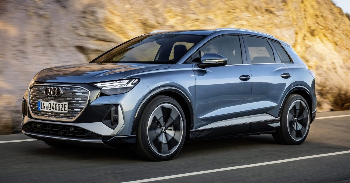 Audi unveils production version of e-tron Q4 electric SUV with over 300 miles of range - Electrek