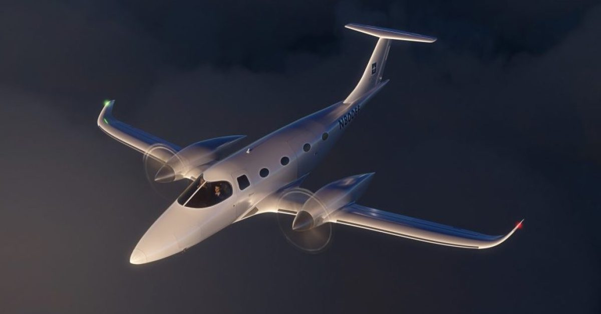 Bye eFlyer 800 will fly you and 7 friends 500nm at 320 knots, or more with solar
