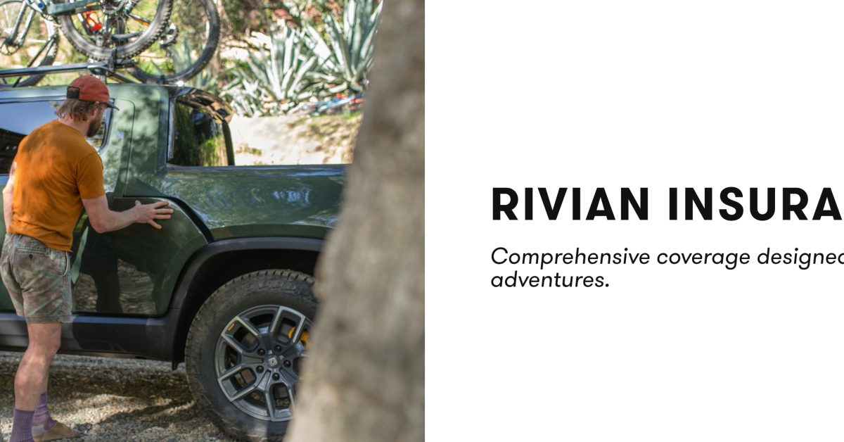 Rivian follows Tesla into another business with the launch of 'Rivian Insurance' - Electrek