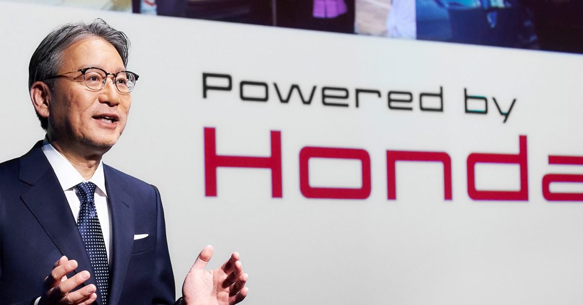 Honda announces pathetic electric vehicle ambitions in the US
