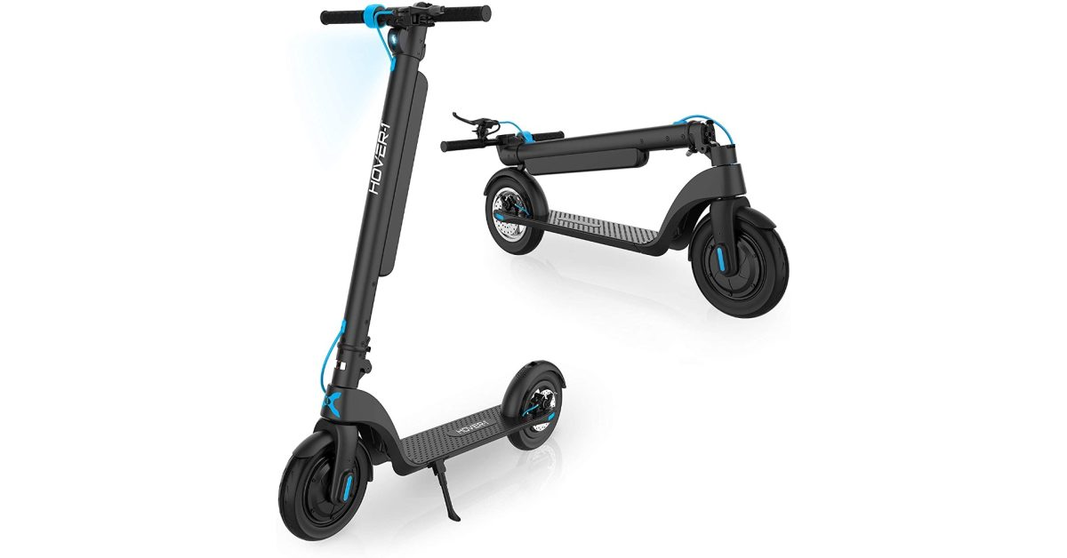 Green Deals: Hover-1's Blackhawk electric scooter goes nearly 19 MPH at a low of $450, more - Electrek