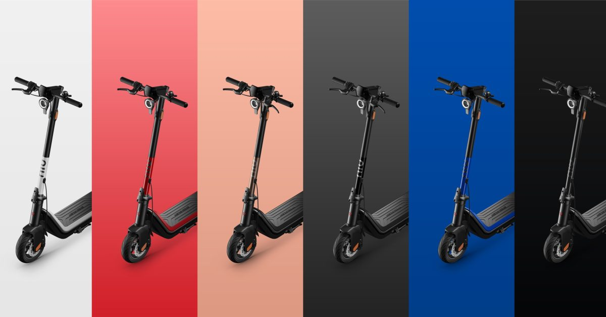 NIU surprises with launch of high-tech standing electric scooter
