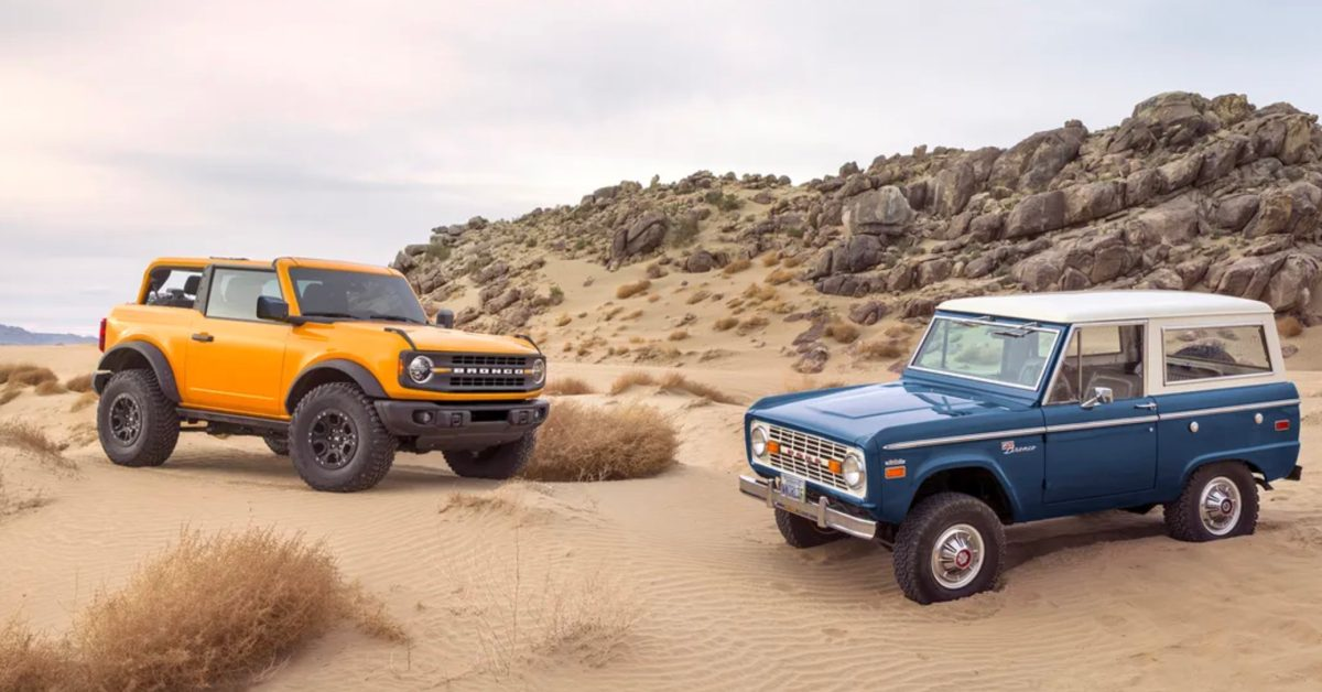 Ford CEO hints at electric Bronco in weird tweet - Electrek