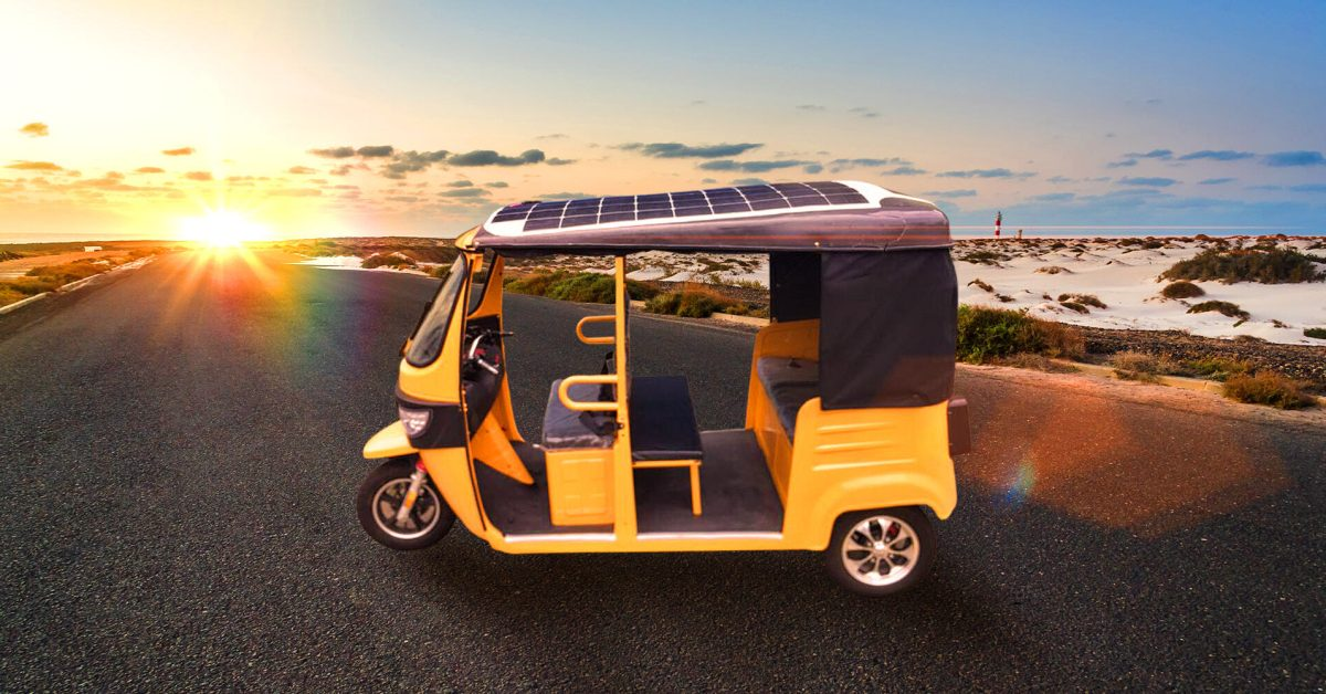 Awesomely Weird Alibaba EV of the Week: Solar-powered electric tuk-tuk