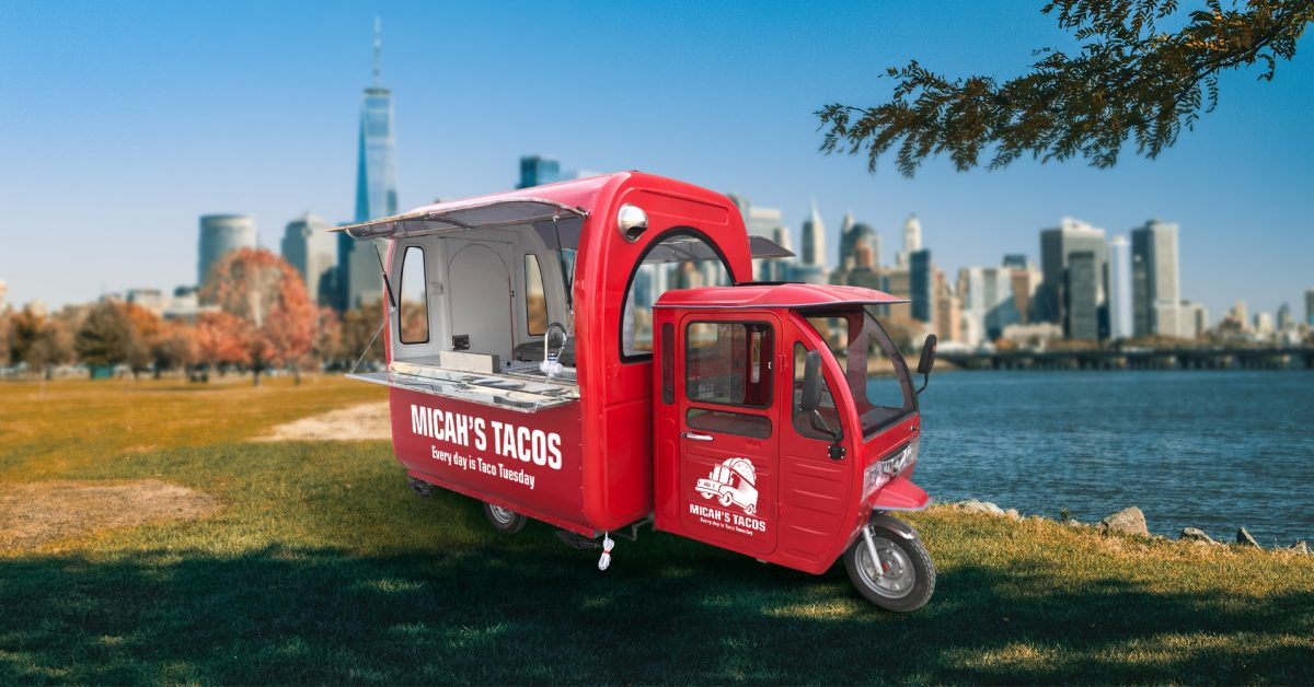 Awesomely Weird Alibaba EV of the Week: $2,000 electric food truck trike
