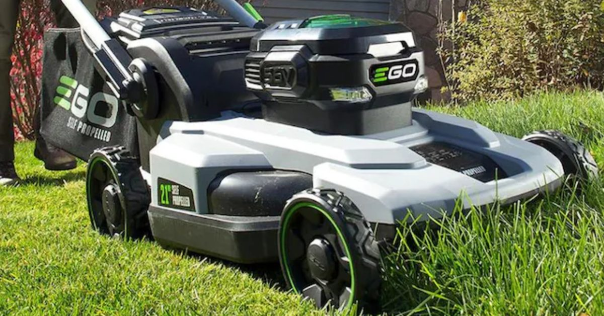 Green Deals: EGO 56V electric yard tools jumpstart your summer lawn care from $159, more - Electrek
