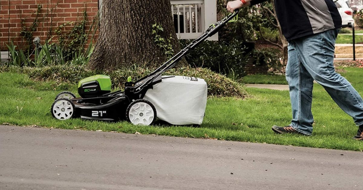 Green Deals: Ditch oil + gas with Greenworks Pro 80V Brushless Electric Mower at $400, more - Electrek