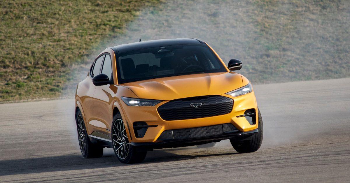 Ford Mustang Mach-E GT/Performance gets impressive EPA ratings - Electrek