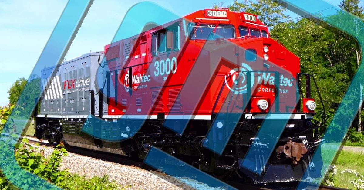 GM to engineer and supply Ultium batteries for Wabtec locomotives - Electrek