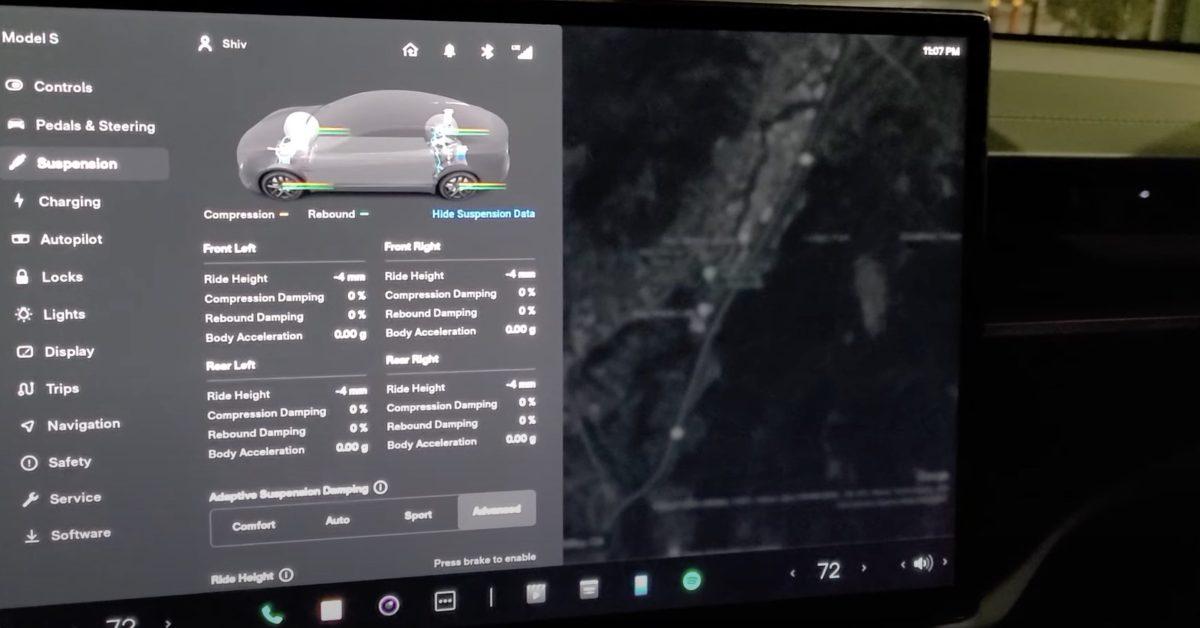 First look at Tesla's new user interface - Electrek