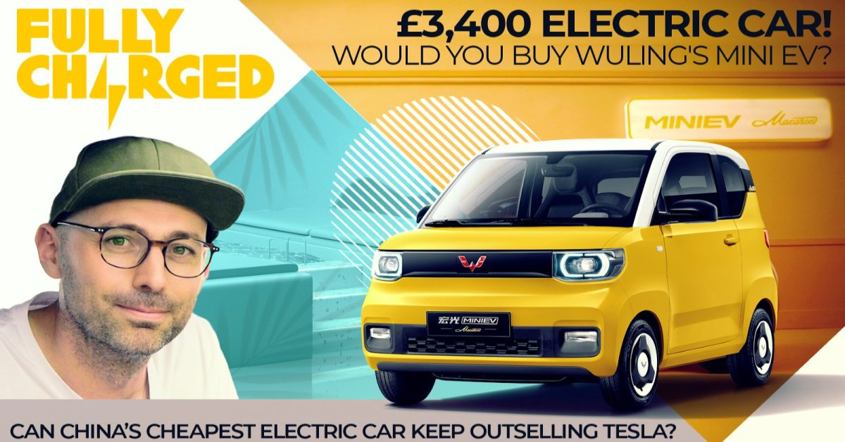 $4,700 electric car! Would you buy Wuling's Mini EV? - Electrek