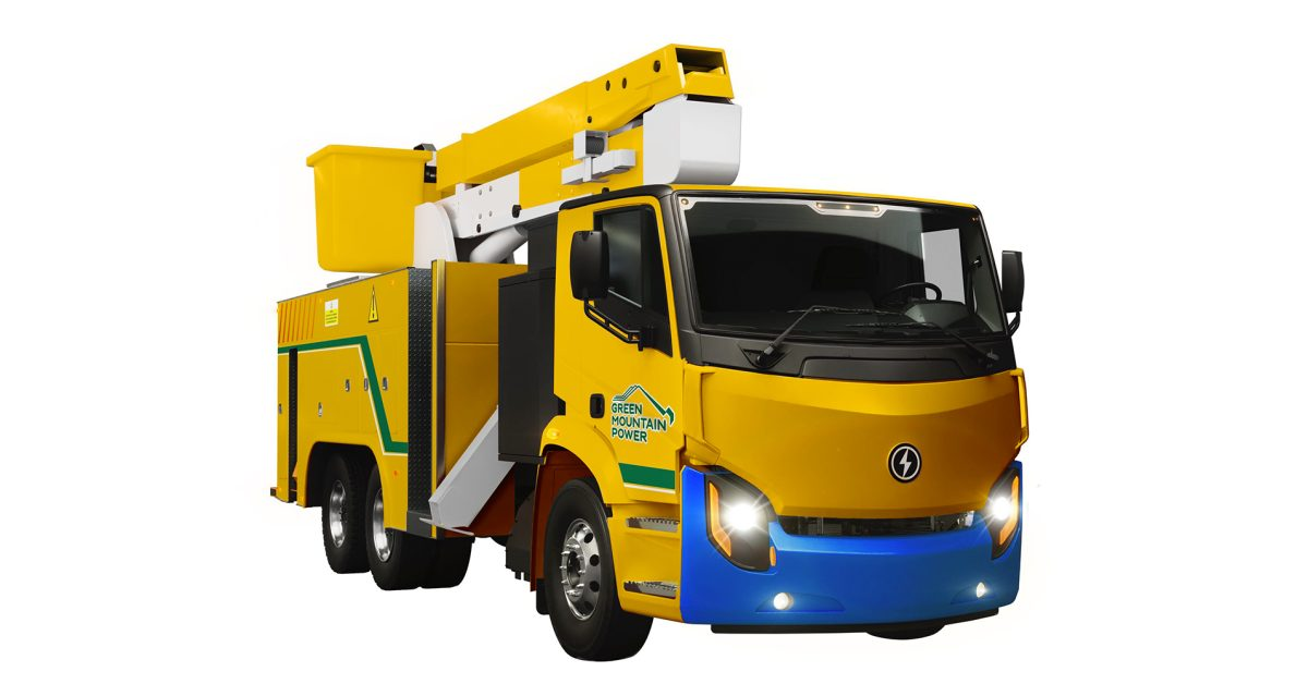 Green Mountain Power aims to make its trucks as green as its grid with Lion Electric