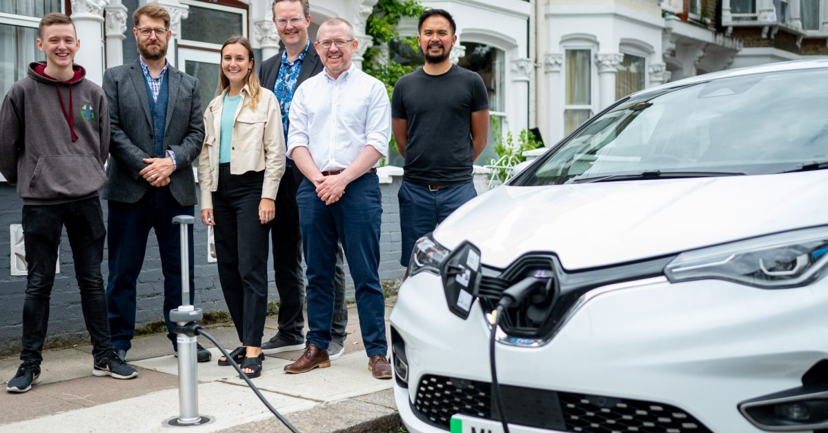 EGEB: These new EV chargers are flat and flush with the sidewalk