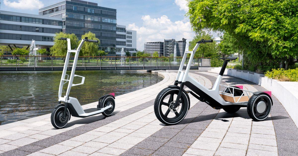 BMW unveils innovative tilting electric cargo trike, then immediately says it won't produce it